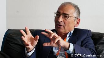 Deutsche Welle Freedom of Speech Award Laureate 2018 Sadegh Zibakalam (Tehran University, Professor of Political Science, Iran) (DW/R. Oberhammer)
