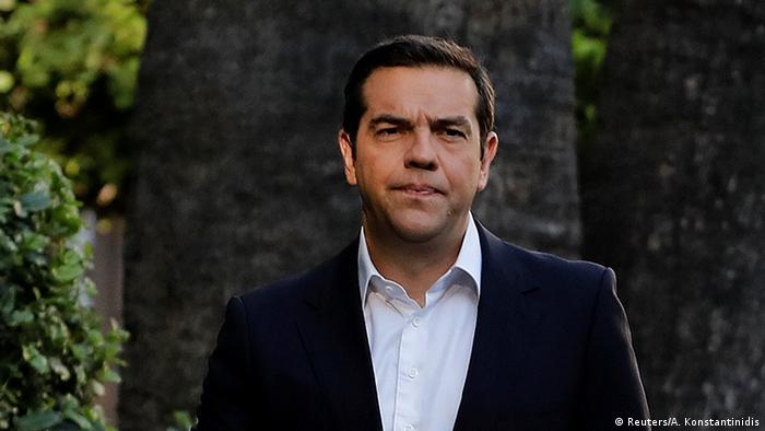 Griechenland Athen Premierminister Tsipras (Reuters/A. Konstantinidis)