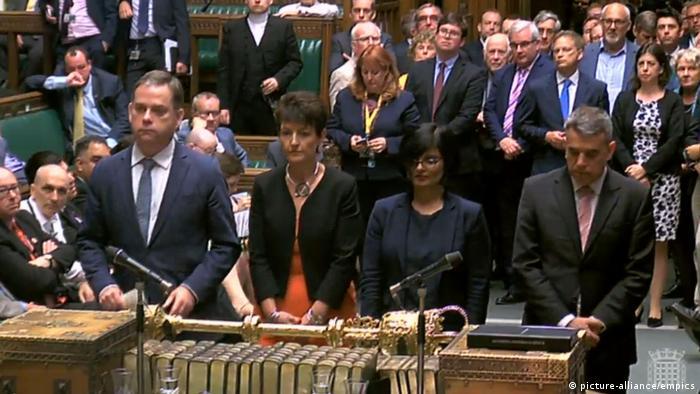 Голосование по Брекзиту в нижней палате парламента Великобритании, 12 июня 2018 г.