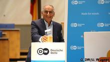 Deutsche Welle Global Media Forum 2018 / Freedom of Speech Award © DW/U. Wagner Deutsche Welle Freedom of Speech Award Laureate 2018 Sadegh Zibakalam (Tehran University, Professor of Political Science, Iran)