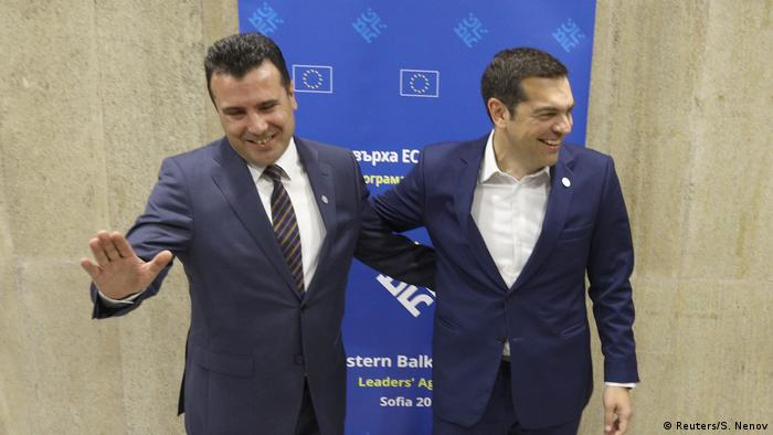 Mazedonien Namensstreit Zoran Zaev Alexis Tsipras