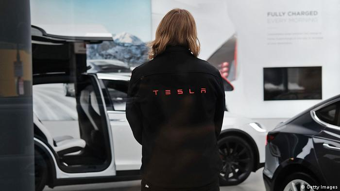 Tesla Stock Rises Over 8 Percent After Company's Shareholder Meeting (Getty Images)