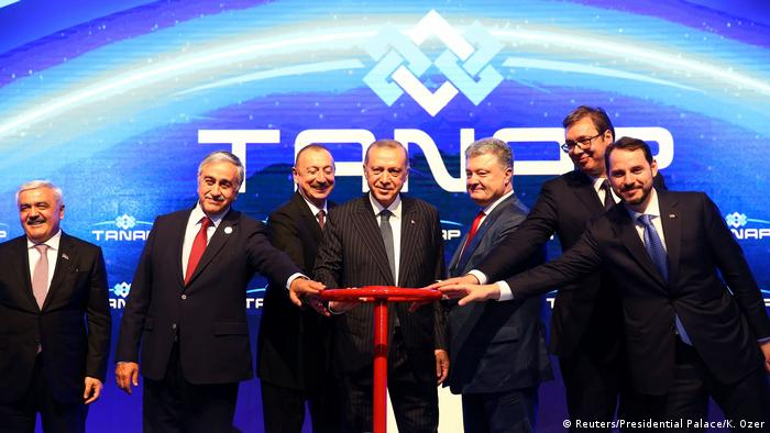 Na otvaranju gasovoda TANAAP u Turskoj 2018. prisustvovao je i predsednik Srbije Aleksandar Vučić