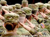 Американські військові під час військових навчань Rapid Trident-2017 в Україні