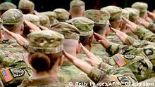 US Soldaten Rapid Trident-2017