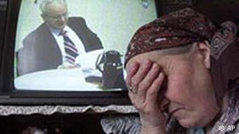 Milosevic vor dem UN-Kriegsverbrechertribunal