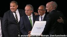 Russland, Moskau: Wahl zum FIFA World Cup 2026