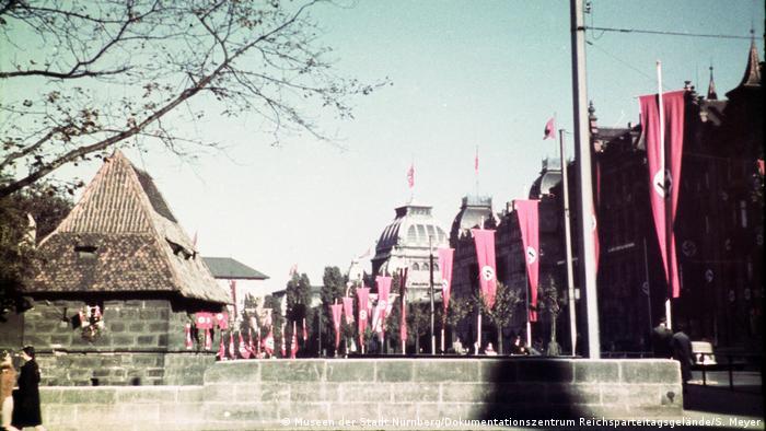 El estilo teatral se reflejaba también en las calles de Núremberg