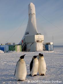 Antarktis Andrilll Forschungs-Bohrstation (ANDRILL/Gavin Dunbar)