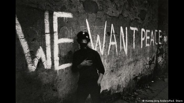Ханса-Йорг Андерс, Беспорядки в Северной Ирландии 1969 года