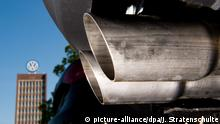 Volkswagen exhaust pipes (picture-alliance/dpa/J. Stratenschulte)