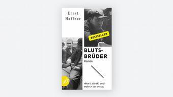 Buchcover Blutsbrüder von Ernst Haffner Aufbau Verlag.