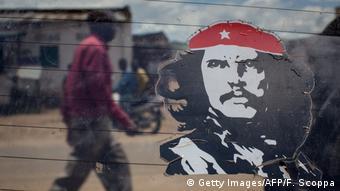 Demokratische Republik Kongo Che Guevara Aufkleber