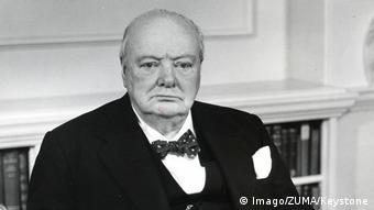Premierul britanic Winston Churchill într-o imagine din 1940