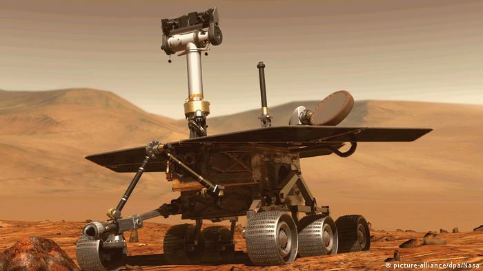 Marsrover Opportunity (picture-alliance/dpa/Nasa)