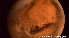 epa04423619 A handout picture made available by the Indian Space Research Organisation (ISRO) on 29 September 2014 of regional dust storm activities over Northern Hemisphere of Mars - captured by Mars Color Camera on-board Mars Orbiter Spacecraft from altitude of 74,500 km on 28 September 2014. India placed a spacecraft into orbit around Mars, the first Asian nation to join an elite club of explorers to the Red Planet on 24 September. ISRO confirmed the successful completion of the Mangalyaan probe's voyage to Mars, after a final 'braking' man oeuvre allowed it to be captured by the planet's gravitational pull. The insertion of the Mangalyaan craft into orbit means India joins the United States, Europe and former Soviet Union in undertaking successful missions to Mars. EPA/ISRO / HANDOUT HANDOUT EDITORIAL USE ONLY/NO SALES |
