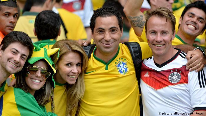 Fußball-WM 2014 Halbfinale Brasilien - Deutschland Fans