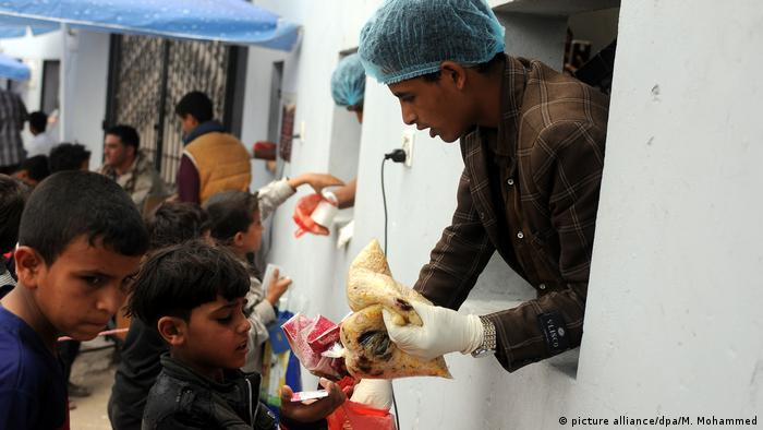 Drohende Hungersnot im Jemen (picture alliance/dpa/M. Mohammed)