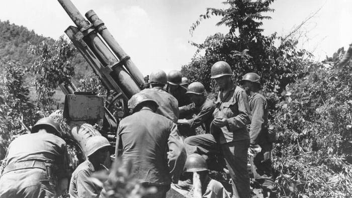 Korea Krieg US-Marines (Public Domain)