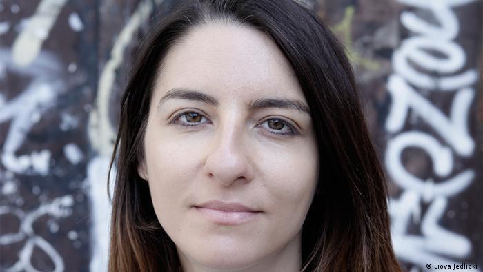 Schriftstellerin Alexandra Badea