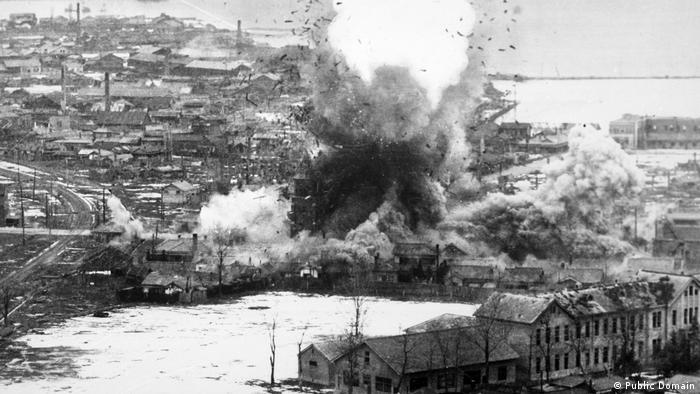 Nordkorea Krieg (Public Domain)