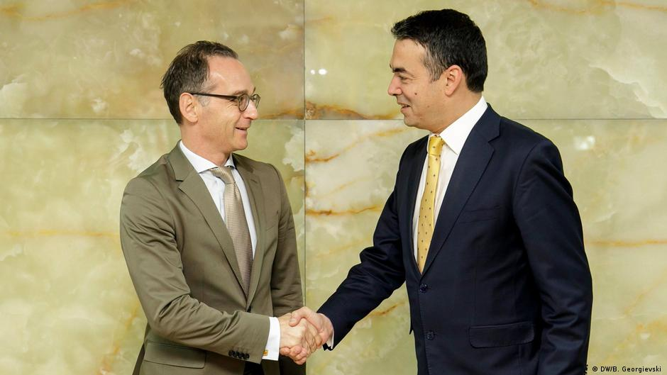 Maas  Maqedonia ka shansin historik për ta zgjidhur çështjen e emrit