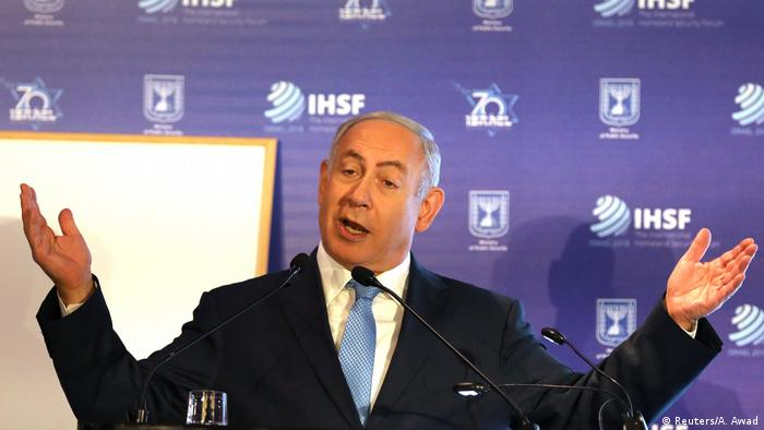 Jerusalem | Netanjahu - Israel hat schiitische Milizen in Syrien bombardiert