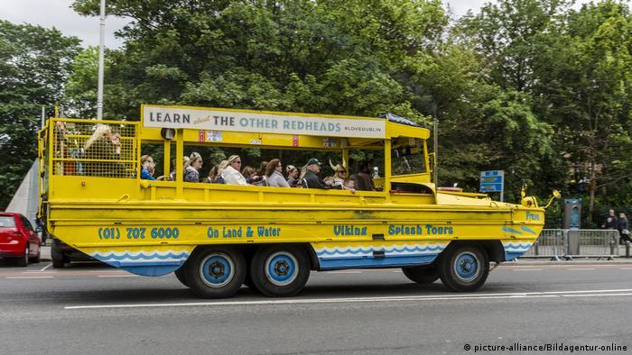 Wikinger Statdrundfahrt in Dublin (picture-alliance/Bildagentur-online)