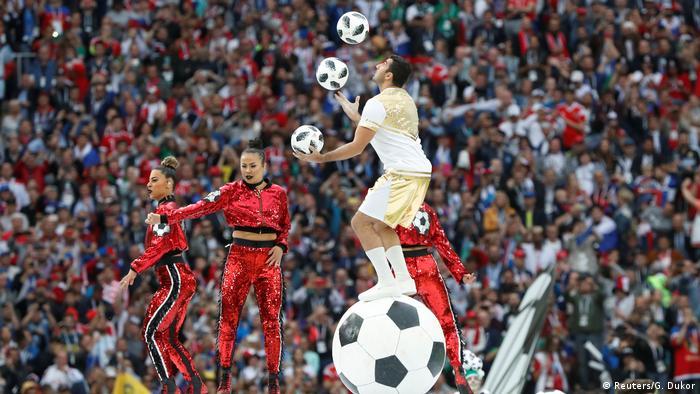 Russland, WM 2018 Eröffnungsfeier, Gruppe A - Russland - Saudi Arabien (Reuters/G. Dukor)