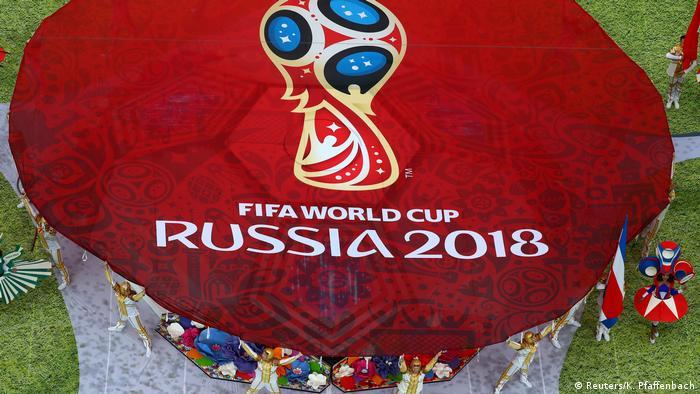 Russland, WM 2018 Eröffnungsfeier, Gruppe A - Russland - Saudi Arabien (Reuters/K. Pfaffenbach)