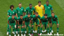 Saudi Arabia 2018 World Cup squad (Reuters/M. Shemetov)