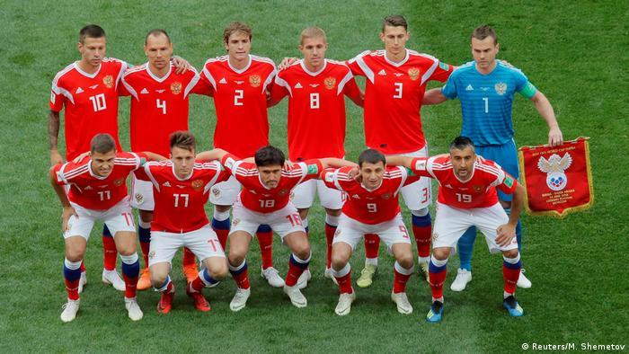 ترکیب آغازین تیم ملی روسیه در مصاف با عربستان سعودی