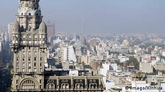 Buildings in Uruguay's Montevideo