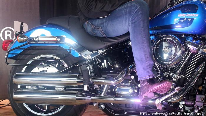 USA   Harley Davidson (picture-alliance/dpa/Pacific Press/J. Kapoor)
