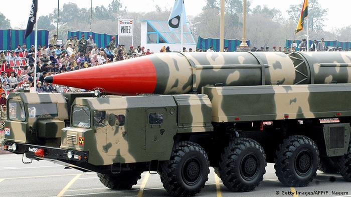 Symbolbild Atombombe (Getty Images/AFP/F. Naeem)