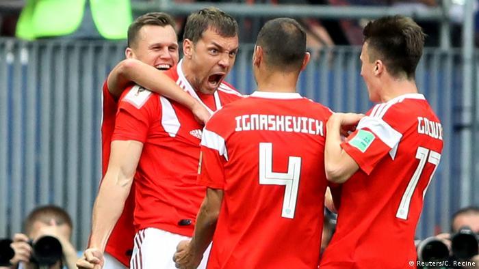 Russland, WM 2018 Russland - Saudi Arabien: 3:0 durch Artem Dzyuba (Reuters/C. Recine)