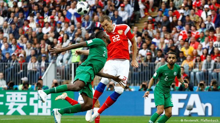 Russland, WM 2018 Russland - Saudi Arabien: 3:0 durch Artem Dzyuba (Reuters/K. Pfaffenbach)