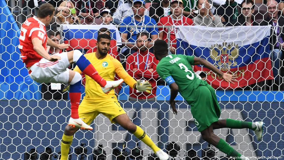 Russland, WM 2018: Russland-Saudi Arabien, Russland 4:0