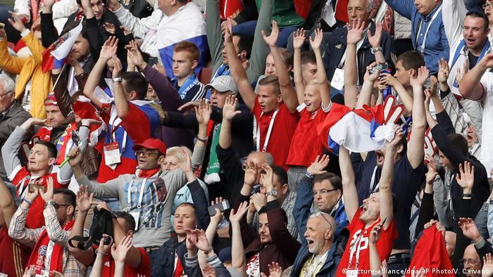Russland Fußball WM 2018 | Russland vs Saudi Arabien (picture-alliance/dpa/AP Photo/V. Caivano)