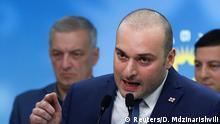 Georgien PK Mamuka Bakhtadze