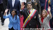 Venezuela | Nicolas Maduro, Cilia Flores, Delcy Rodriguez