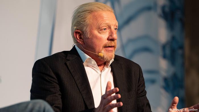 ZEIT Konferenz Gesundheit in Hamburg | Boris Becker, ehemaliger Tennisspieler