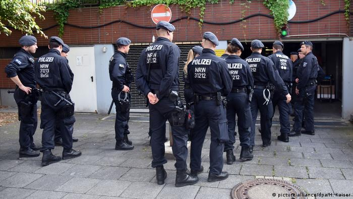 Police raid further apartments at a high-rise in Cologne after a toxic substance was uncovered there