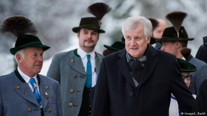 Deutschland 2016 CSU-Klausurtagung in Wildbad Kreuth | Horst Seehofer, Ministerpräsident Bayern (Imago/L. Barth)