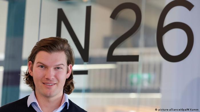 N26 founder Valentin Stalf