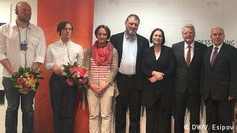 Российские лауреаты премии имени Карла Вильгельма Фрике с членами жюри