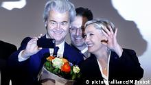 Geert Wilders und Marine le Pen