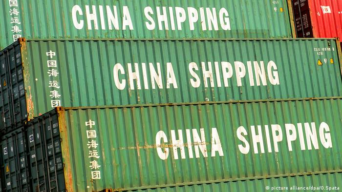 Контейнеры с китайскими товарами