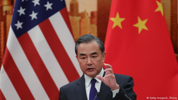 USA China - Chinesischer Außenminister Wang Yi (Getty Images/L. Zhang)