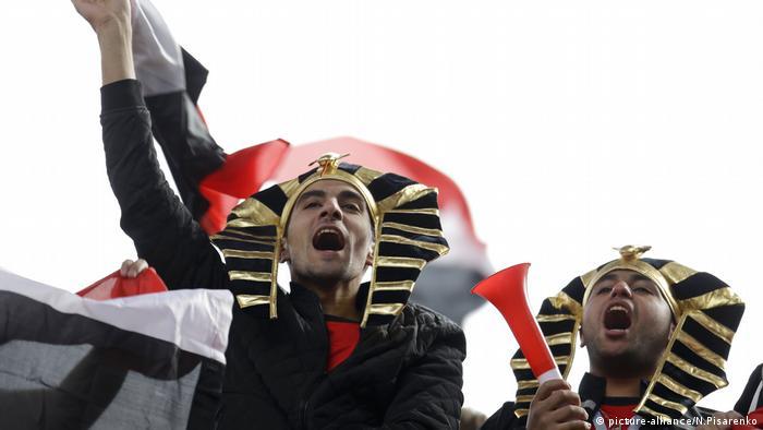 Russland Weltmeisterschaft, Ägypten - Uruguay (picture-alliance/N.Pisarenko)